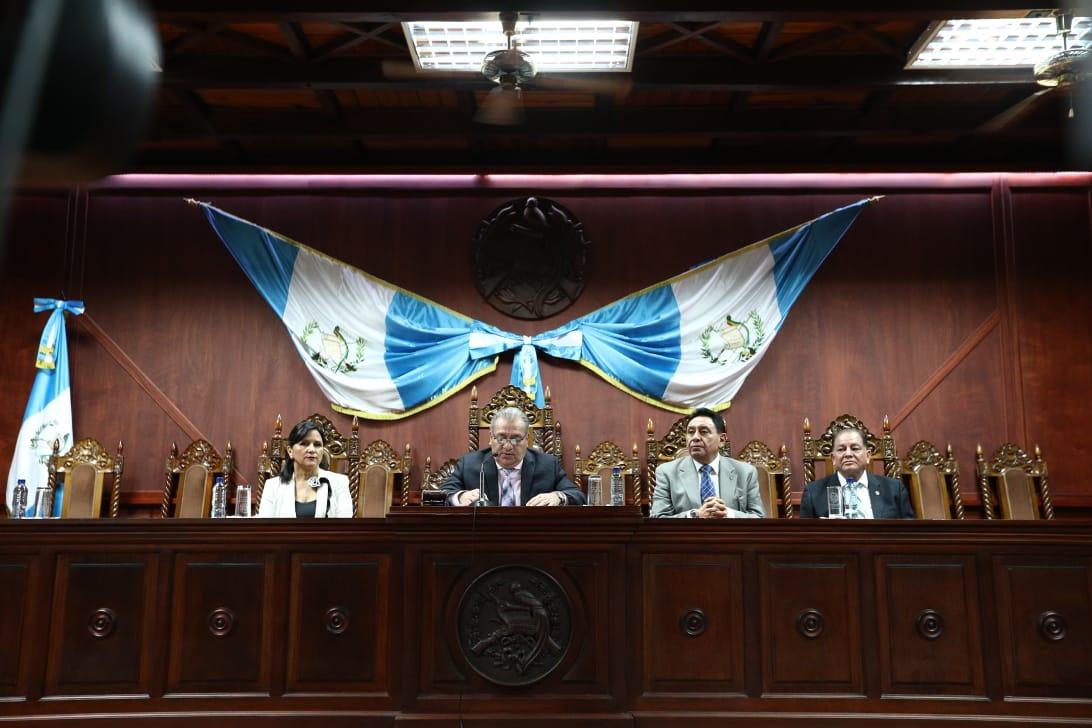 Antejuicio presentado contra magistrados de la CC no procede, dice memorial
