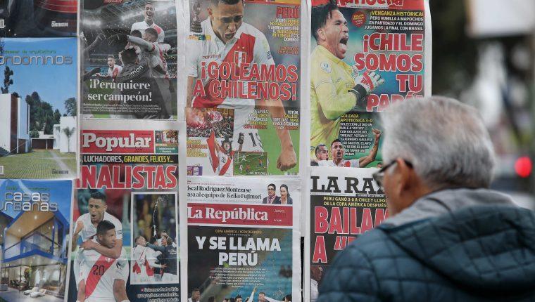 Las noticias deportivas tendrán que esperar por la pandemia. (Foto Prensa Libre: EFE)