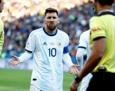Un partido de suspensión para Lionel Messi. (Foto Prensa Libre: Hemeroteca PL)