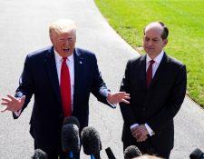 Donald Trump  hizo las declaraciones antes de viajar hacia Wisconsin. (Foto Prensa Libre: Hemeroteca)