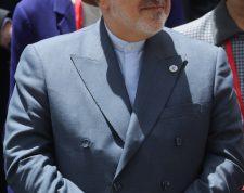 AME8384. CARACAS (VENEZUELA), 20/07/2019.- El ministro de Relaciones Exteriores de Irán, Mohammad Yavad Zarif, asiste este sábado a la reunión del buró de coordinación del Movimiento de países No Alineados (Mnoal), en Caracas (Venezuela). Con un llamado a la paz y al respeto a la soberanía, el canciller de Venezuela, Jorge Arreaza, inauguró la reunión del buró de coordinación del Mnoal, en la que participan delegados de decenas de países pertenecientes al bloque. EFE/ Miguel Gutiérrez