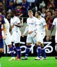 El equipo español Barcelona cae 2-1 ante el Chelsea en amistoso. (Foto Prensa Libre: EFE)