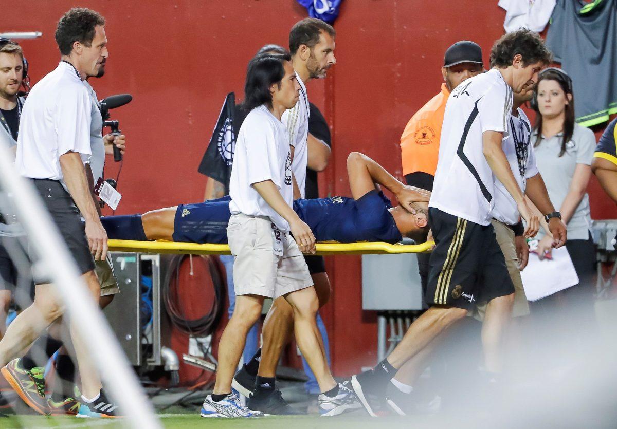 ¡Duro golpe! Asensio sufre una rotura de ligamento y de menisco de la rodilla izquierda
