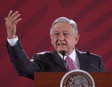 El presidente de México, Andrés Manuel López Obrador, critica a las series de narcotráfico. (Foto Prensa Libre: EFE)