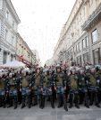 Tensión en Moscú debido a las protestas en contra del gobierno de Vladimir Putin. (Foto Prensa Libre: AFP)