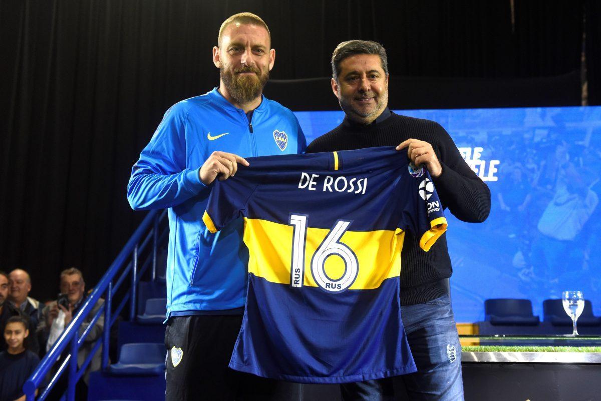"""De Rossi: """"Si te gustan los estadios lindos, donde se vive pasión, ninguno debería privarse esta experiencia"""""""