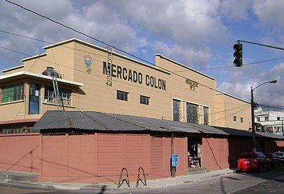 El mercado Colón están ubicado en la 13 y 14 avenida entre 6 y 7 calle de la zona 1. (Foto Prensa Libre)