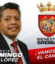 Domingo López integra la planilla 8 para conformar la Comisión de Postulación que elegirá a los aspirantes para una magistratura en la Corte Suprema de Justicia. (Foto Prensa Libre).