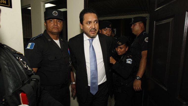 El expresidente del Congreso, Gudy Rivera, fue condenado a 13 años y seis meses de prisión. (Foto Prensa Libre: Hemeroteca)