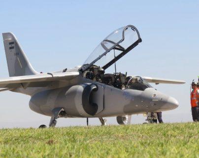 Avión Pampa III. (Foto Prensa Libre: FAdeA).