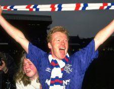 Johnston ganó dos ligas con Rangers en Escocia.