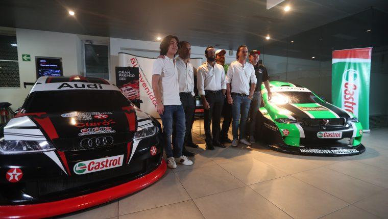 Este martes fue presentado el Gran Premio Audi Jaguar de automovilismo, que se disputará el próximo sábado en el Autódromo Pedro Cofiño (Foto Prensa Libre: Edwin Fajardo)