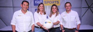 Personal de Tigo Sports dio a conocer las transmisiones internacionales y nacionales que tendrá dicho canal. Foto Norvin Mendoza