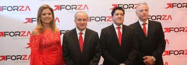 Representantes de Forza Logistics Cash, dieron a conocer los pormenores del cambio de nombre y de los planes a futuro. Foto Norvin Mendoza