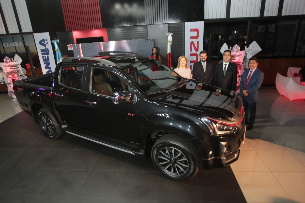 Presentan el mejorado Pick Up Isuzu D-MAX