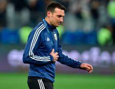 Lionel Scaloni seguirá al mando de la Selección de Argentina. (Foto Prensa Libre: AFP)