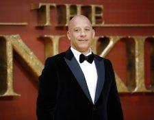 El actor Vin Diesel participa en la novena producción de la película Rápido y Furioso.  (Foto Prensa Libre AFP)
