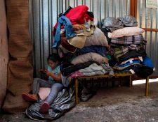 Albergue Juventud 2000  ubicado en Tijuana, Baja California. (Foto Prensa Libre: AFP)