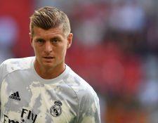 El medio campista alemán Toni Kroos considera que su equipo, el Real Madrid, saldrá adelante. (Foto Prensa Libre: AFP)