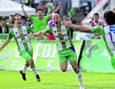 El delantero costarricense Anllel Porras lideró la última victoria de Antigua GFC contra Guastatoya, en las semifinales del Clausura 2019 (Foto Prensa Libre: Hemeroteca PL)