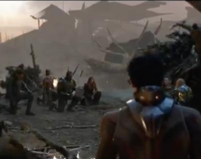 Avengers: Endgame, los vengadores rinden homenaje a Iron Man en escena inédita