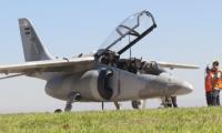 El avión Pampa III fue presentado en Argentina en diciembre del 2018. (Foto Prensa Libre: Fuerza Aérea de Argentina)