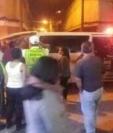 Los Bomberos Voluntarios acudieron al Cerrito del Carmen para auxiliar a un joven atacado con arma de fuego en la feria de dicho lugar.