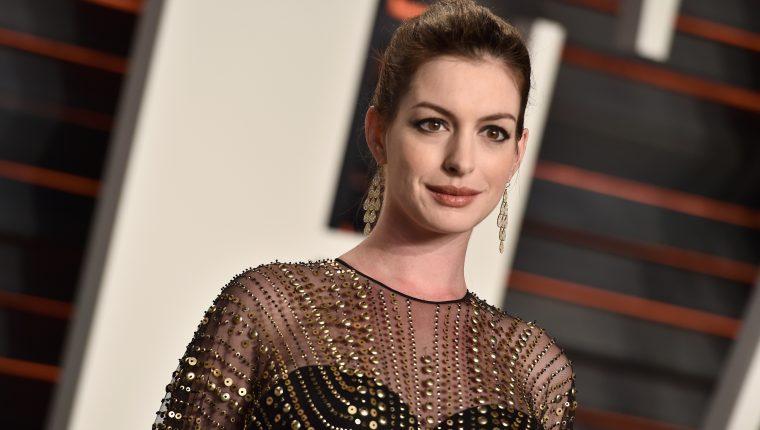 Anne Hathaway anunció que espera a su segundo hijo. (Foto Prensa Libre: Hemeroteca PL)
