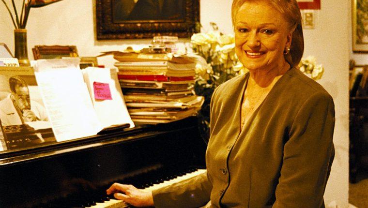 Bárbara Bickford destacó como docente musical e intérprete de bel canto (Foto Prensa Libre: Ingrid Roldán / Hemeroteca PL)
