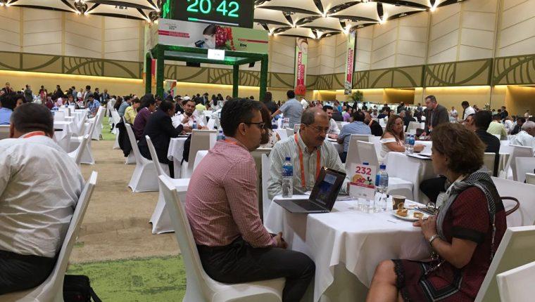 En el 2018 hubo 5 mil citas de negocios en la Misión de Compradores. (Foto, Prensa Libre: Procomer).