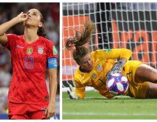 Estados Unidos logró el pase a la final de Francia 2019. (Foto Prensa Libre: Twitter @USWNT)