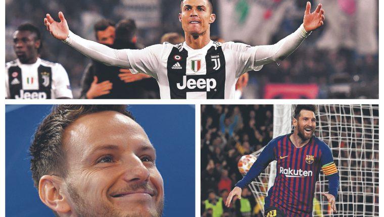 Cristiano Ronaldo, Rakitic y Messi, son algunos de los nominados. (Foto Prensa Libre: Hemeroteca PL)