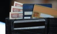 Billetera dinero tarjetas