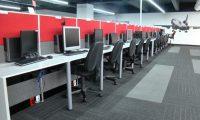 El call center y firma servicios administrativos C3 cuenta con 900 trabajadores. Foto Claudia Martínez