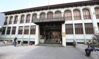 Los magistrados de la Corte de Constitucionalidad sesionaron por más de tres horas para resolver los amparos interpuestos. (Foto Prensa Libre: Hemeroteca PL)
