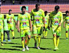 Chiantla tiene nueve laudos que pagar para lograr tener su solvencia federativa y poder inscribirse en la Primera División (Foto Prensa Libre: Hemeroteca PL)