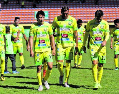 Peligra la participación de Chiantla, Petapa y Deportivo Reu en la Primera División
