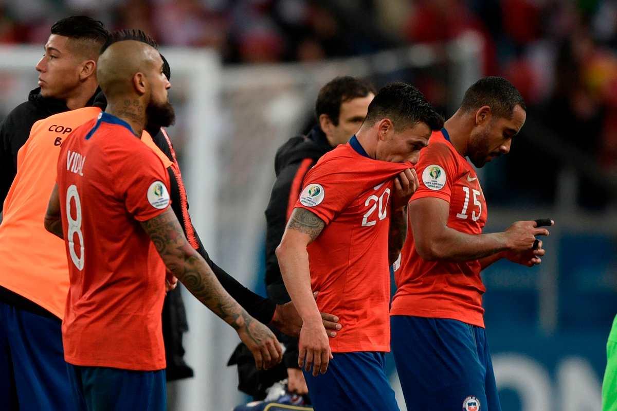 La generación dorada de Chile empieza a derretirse