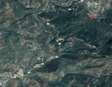 El hecho ocurrió en la localidad Lelá Chancó (derecha), del municipio de Camotán. (Foto: Google Maps)