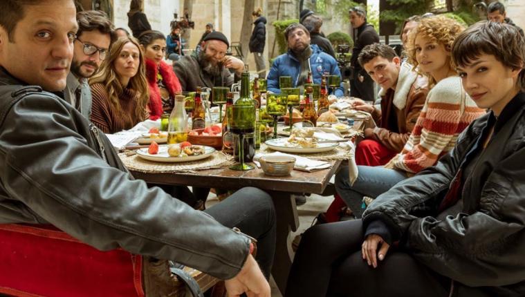 El elenco de la Casa de papel, la exitosa serie de Netflix. (Foto Prensa Libre: Instagram @lacasadepapel)