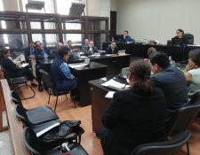 La acusada Susana Patricia Castellanos González relató la forma en que una entidad aportó a la campaña de 2015 más de Q3 millones. (Foto Prensa Libre: Kenneth Monzón)