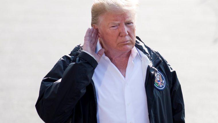 """El presidente Donald Trump pidió a los migrantes que """"no lleguen"""" a EEUU si quieren resolver la crisis migratoria. (Foto Hemeroteca)"""