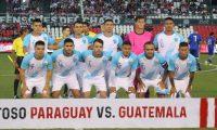 Este fue el cuadro titular que se enfrentó a Paraguay, en el último amistoso que ha tenido Guatemala. (Foto Prensa Libre: Hemeroteca PL)