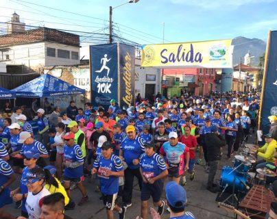 La carrera es pera a más de  mil deportistas en las distintas categorías. (Foto Prensa Libre: Cortesía)