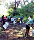 Los integrantes del grupo Eco Runner Guatemala han empleado este proyecto en otros departamentos. (Foto Prensa Libre: Cortesía)