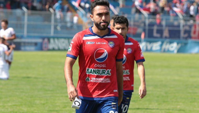 Carlos Kamiani Félix ya ha portado el gafete en el torneo pasado y se perfila para ser el primer capitán del equipo. (Foto Prensa Libre: Raúl Juárez)