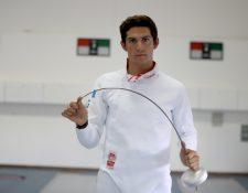Charles Fernández buscará en Lima 2019 su boleto a los Juegos  Olímpicos de Tokio 2020. (Foto Prensa Libre: Carlos Vicente)