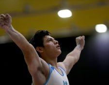 Vega es una de las grandes figuras de la gimnasia artística nacional. (Foto Prensa Libre: Hemeroteca PL)