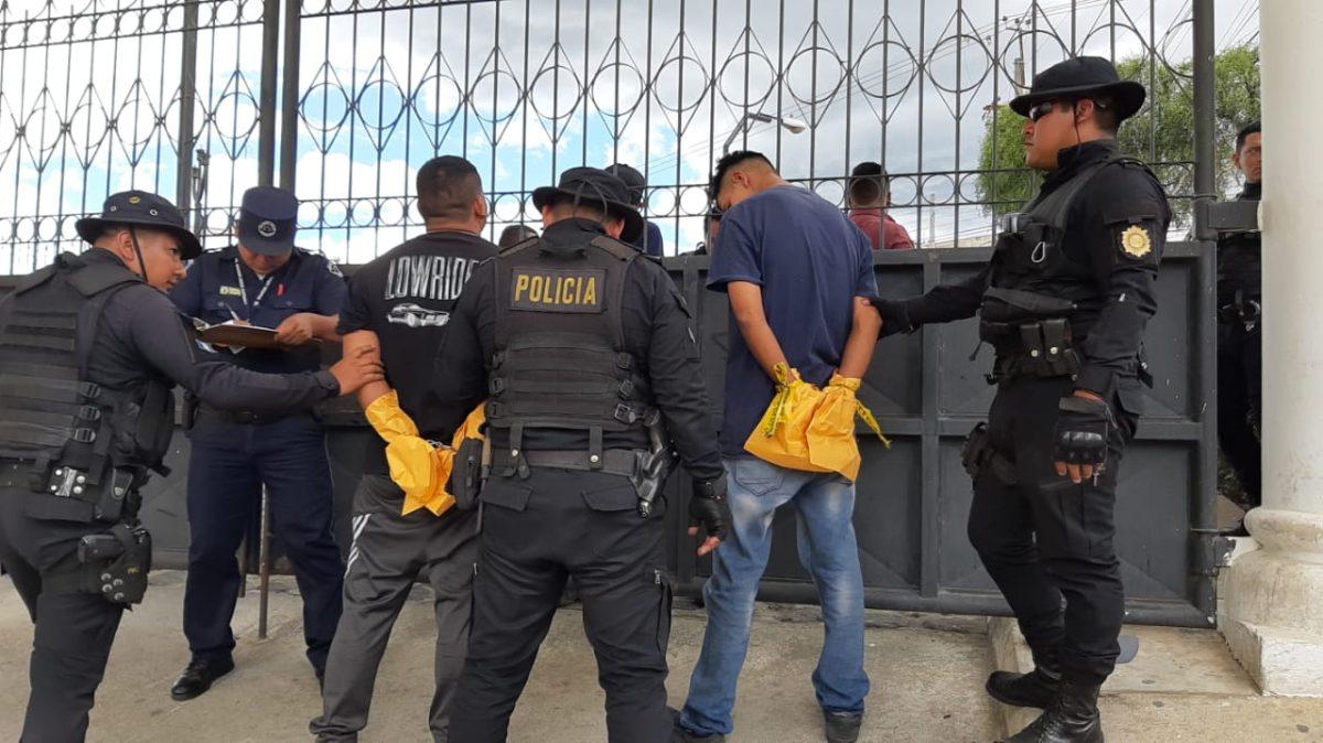 Detienen a presuntos responsables de un ataque armado al transporte urbano