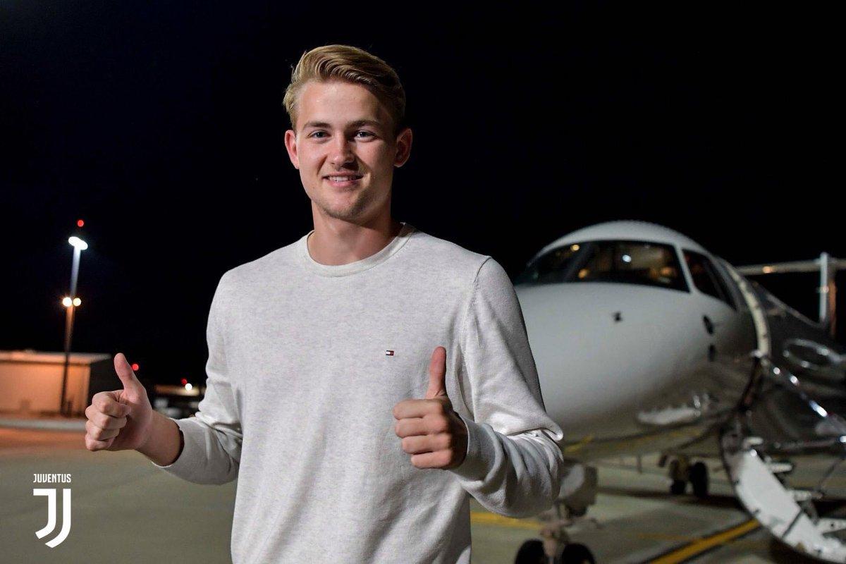 Matthijs De Ligt llega a Turín para afinar detalles y firmar con la Juventus